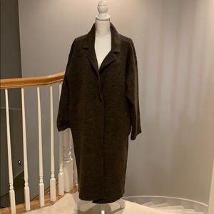 Sweaters - Chunky oversized maxi cardigan/jacket